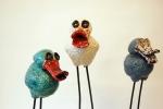 keramiek, vogels