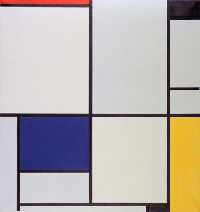 Tableau van Piet Mondriaan