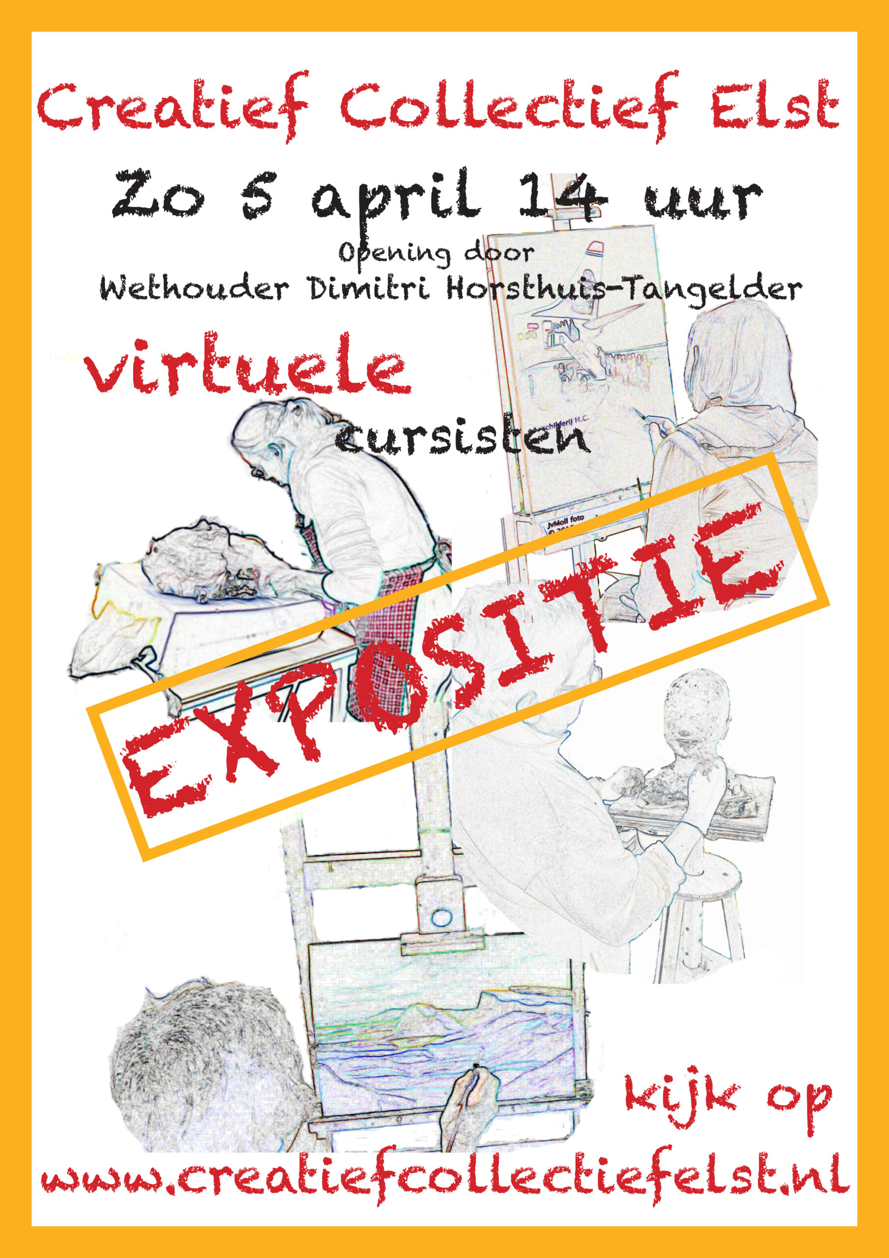 AFFICHE Virtuele Expo 2020